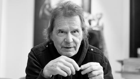 Cartoonist Uli Stein