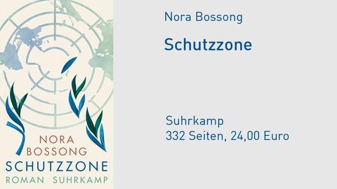 Nora Bossong Schutzzone - Roman Cover Vorlage