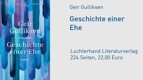 """Cover Geir Gulliksen """"Geschichte einer Ehe"""""""
