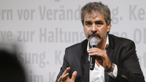 Deniz Yücel auf der Frankfurter Buchmesse