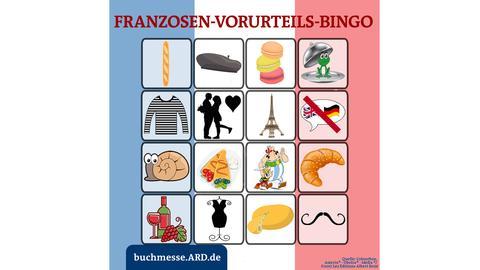 Franzosen-Bingo