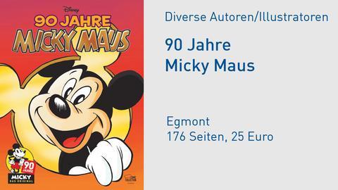 "Buchcover ""90 Jahre Micky Maus"""