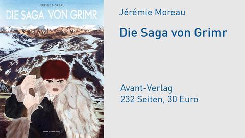 "Buchcover Jérémie Moreau ""Die Saga von Grimr"""