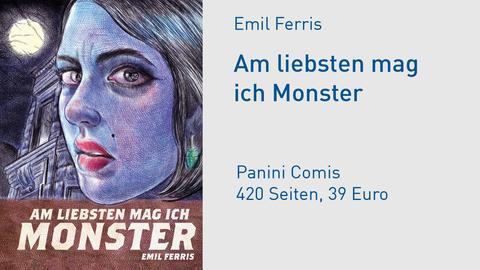 """Buchcover Emil Ferris """"Am liebsten mag ich Monster"""""""