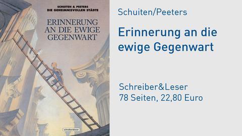 """Buchcover Schuiten/Peeters """"Erinnerung an die ewige Gegenwart"""""""
