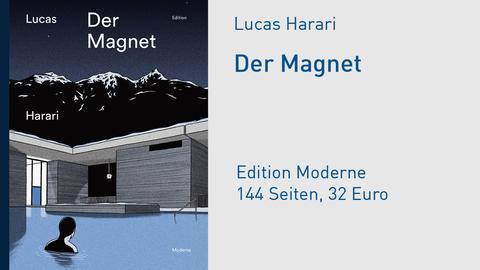 "Buchcover Lucas Harari ""Der Magnet"""