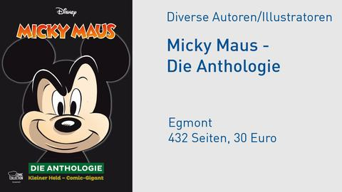 "Buchcover ""Micky Maus - Die Anthologie"""