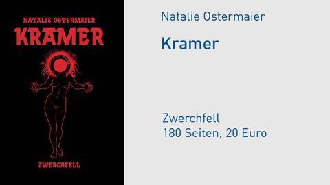 "Buchcover Natalie Ostermaier ""Kramer"""