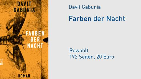 """Buchcover Davit Gabunia """"Farben der Nacht"""""""