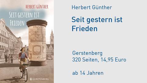 """Buchcover """"Seit gestern ist Frieden"""" von Herbert Günther"""