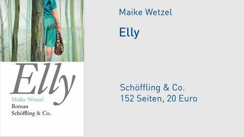 "Buchcover Maike Wetzel ""Elly"""