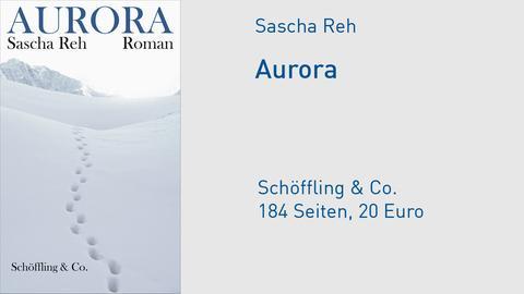 "Buchcover Sascha Reh ""Aurora"""
