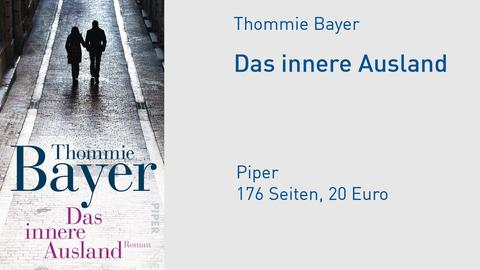 """Buchcover Thommie Bayer """"Das innere Ausland"""""""
