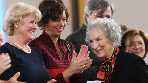 Margaret Atwood, Eva Menasse, Monika Grütters