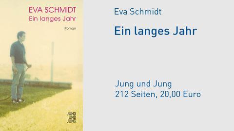 """Cover Eva Schmidt """"Ein langes Jahr"""""""