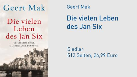 Cover Geert Mak Die vielen Leben des Jan Six