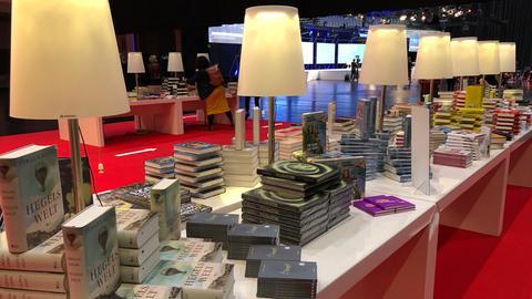 Bücherstand auf der Frankfurter Buchmesse