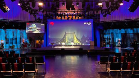 ARD-Buchmessenbühne auf der Frankfurter Buchmesse