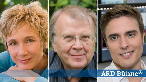 Amelie Fried, Wilhelm Genazino und Constantin Schreiber