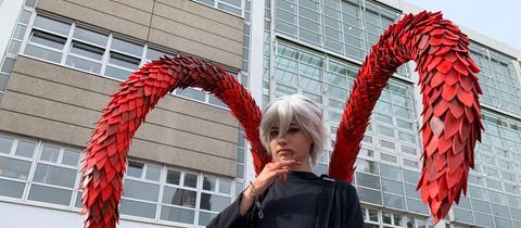 Cosplayer auf der Frankfurter Buchmesse 2019
