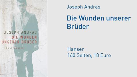 """Cover Joseph Andras """"Die Wunden unserer Brüder"""""""