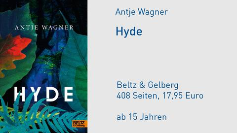"Buchcover Antje Wagner ""Hyde"""
