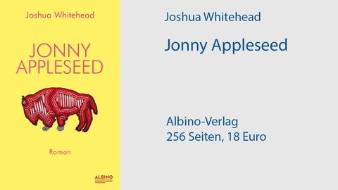 "Cover Joshua Whitehead ""Jonny Appleseed"""