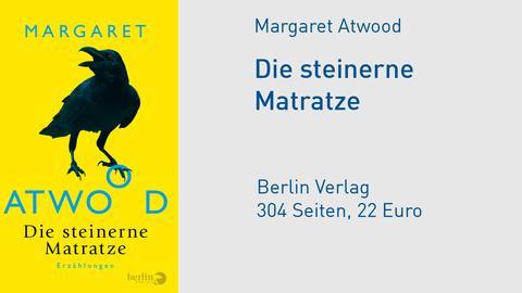 """Cover Margret Atwood """"Die steinerne Matratze"""""""