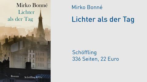 "Cover Mirko Bonné ""Lichter als der Tag"""