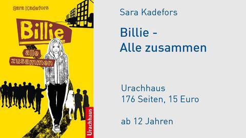 """Buchcover """"Billie - alle zusammen"""""""