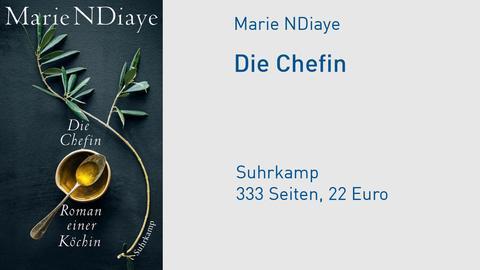 "Cover Marie NDiaye ""Die Chefin"""