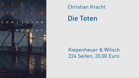 """Cover Christian Kracht """"Die Toten"""""""