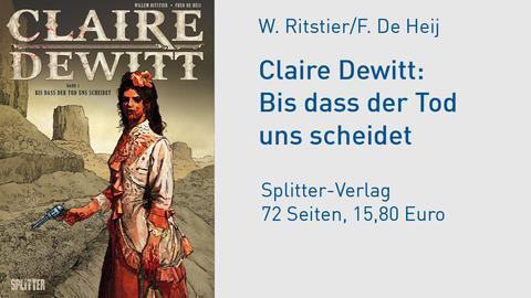 Cover Claire Dewitt  Bis dass der Tod uns scheidet