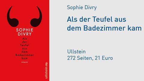 Cover Sophie Divry Als der Teufel aus dem Badezimmer kam
