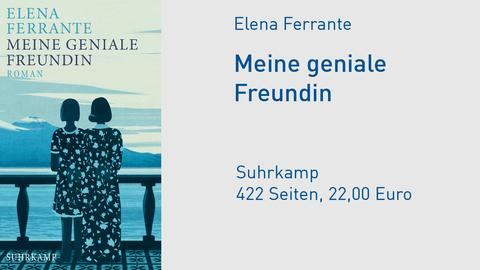 "Cover Elena Ferrante ""Meine geniale Freundin"""