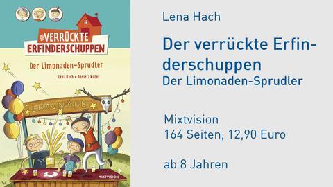 Cover Lena Hach Der verrückte Erfinderschuppen