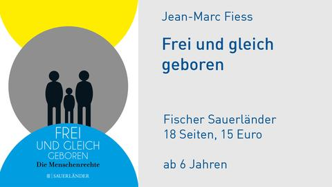Cover Jean-Marc Fiess Frei und gleich geboren
