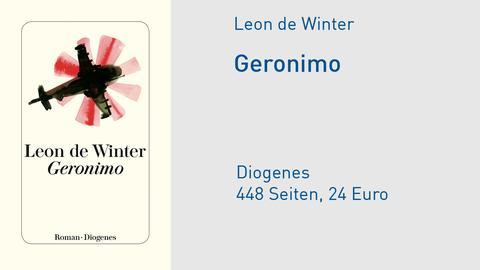 "Cover Leon de Winter ""Geronimo"""