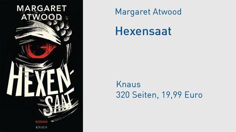"""Cover Margaret Atwood """"Hexensaat"""""""