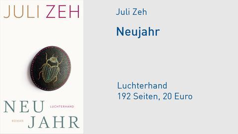 """Buchcover Juli Zeh """"Neujahr"""""""