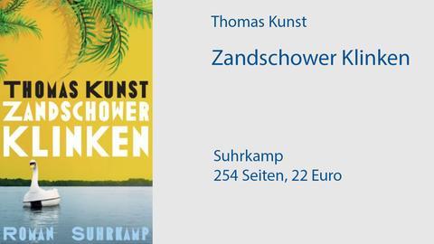 """Cover Thomas Kunst """"Zandschower Klinken"""""""