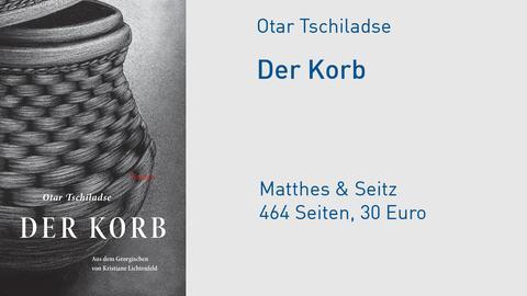 """Cover Otar Tschiladse """"Der Korb"""""""