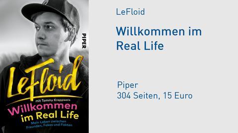 "Buchcover LeFloid ""Willkommen im Real Life"""