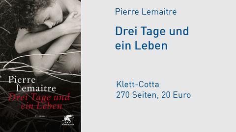 """Cover Pierre Lemaitre """"Drei Tage und ein Leben"""""""