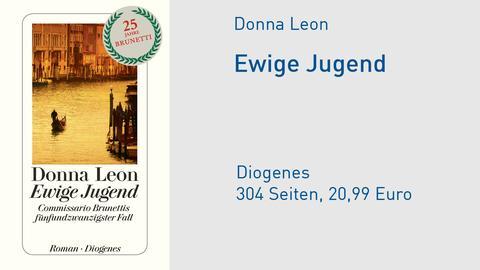 Cover Donna Leon Ewige Jugend