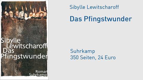 Cover Sibylle Lewitscharoff Das Pfingswunder