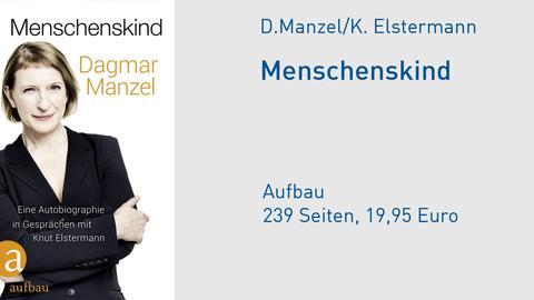 Cover Dagmar Manzel Menschenskind