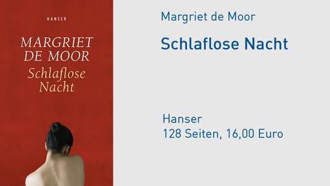 "Cover Margriet de Moor ""Schlaflose Nacht"""