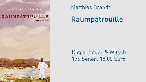 """Cover Matthias Brandt """"Raumpatrouille"""""""