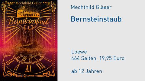 """Buchcover Mechthild Gläser """"Bernsteinstaub"""""""